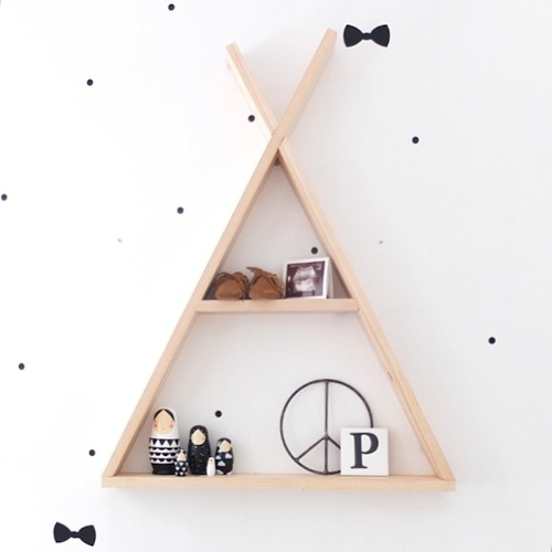 Decoratie Muur Kinderkamer.Kinderkamer Decoratie Hout Muur Tipi Rock That Label Babybegood