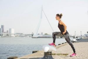 02-07-2015, Rotterdam. Hardlopen in Rotterdam voor Mom in Balance. Foto: Bastiaan Heus